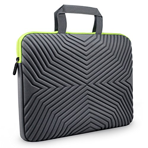 Tizum Laptop Bag Sleeve Case Cover for 15/15.6-Inch Laptop MacBook | Designer Neoprene (Grey)
