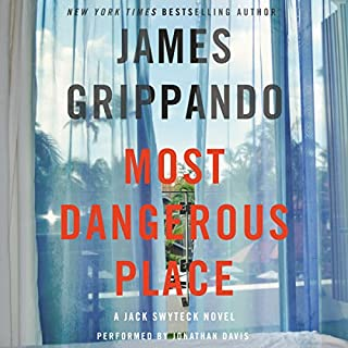 Most Dangerous Place audiobook cover art