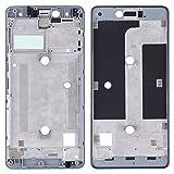 WANGZHEXIA Piezas de repuesto móviles carcasa frontal LCD marco bisel placa para BQ Aquaris U Lite