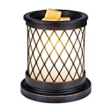 SUNPIN Electric Fragrance Candle Warmer, Antique Color Iron-Art...