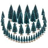 CINMOK 40SKT Klein Weihnachtsbaum Künstlicher Tannenbaum Mini Christbaum Miniatur Christmasbaum...