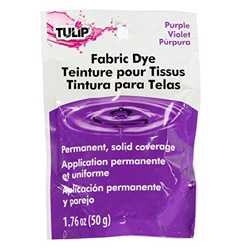 Tulip Purple, One-Color Dyeing Permanent Fabric