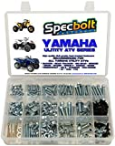 250pc Specbolt Bolt Kit for Yamaha UTILITY ATV including all Grizzly Warrior Wolverine Big Bear Tracker Breeze...