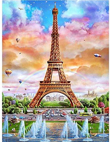 ZXSDFV Puzzle 1000 Piezas para Adultos Rompecabezas De Juguete Jigsaw Puzzle Torre Eiffel DIY Grande Wooden Jigsaw Puzzles Rompecabezas Juegos Y Juguete