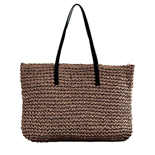 CHIKENCALL dames straw dode tas hete verkoop strandtas zomer strand haak schoudertassen handtas