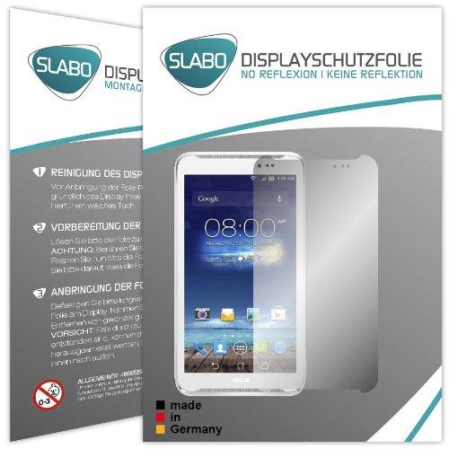 Slabo 2 x Bildschirmschutzfolie Asus Fonepad Note 6 Bildschirmschutz Schutzfolie Folie No Reflexion|Keine Reflektion MATT-Entspiegelnd MADE IN GERMANY