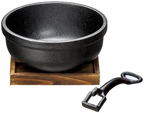 イシガキ産業 鉄鋳物製ビビンバ鍋18cm 3977