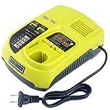 12V-18V recargable universal cargador de batería para Ryobi P100 P102 P108 P117...
