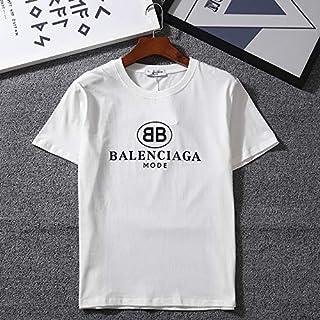 BalenciagaasTシャツ半袖 夏服 Tシャツ メンズ カジュアル 柔らかい 快適 カジュアル カットソー ファッション男女兼用