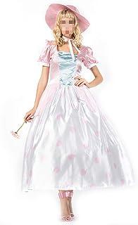 kMOoz Disfraz De Halloween,Disfraz De para Niña Halloween Disfraz Vestido Halloween Cosplay,Disfraz De Reina De Cuento De Hadas De Halloween Disfraz De Cosplay Falda Blanca como La Nieve De Cosplay