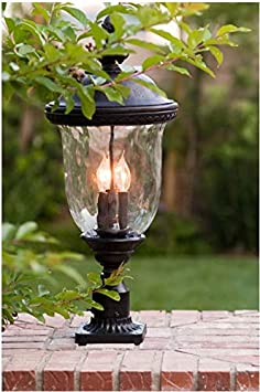 3424WGOB Maxim Carriage House DC 3-Light Outdoor Wall Lantern Bronze