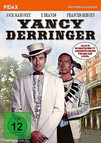 Yancy Derringer / Alle 26 im deutschen TV ausgestrahlten Folgen (Pidax Western-Klassiker) [4 DVDs]
