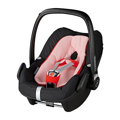Maxi Cosi Pebble Plus – reworked Red – Baby Coque au design Quinny -