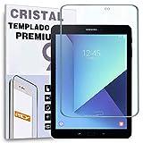 REY Protector de Pantalla para Samsung Galaxy Tab S3 9.7' WiFi, Cristal Vidrio Templado Premium