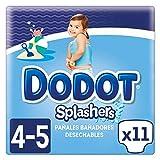 foto Dodot Splashers Pañales Bañadores Desechables - Paquete de 11 Pañales, Talla 4