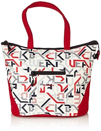4YOU Sporttasche Igrec Shopper M Mehrfarbig (Typography) 14530011300