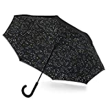 totes InBrella Reverse Close Umbrella, Zodiac