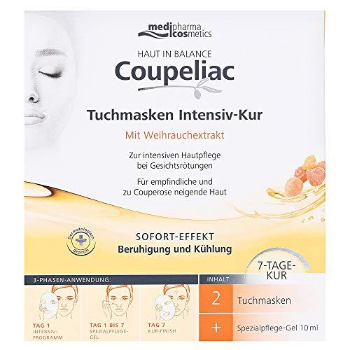 Haut in Balance Coupeliac Tuchmasken Intensiv-Kur 1 Set