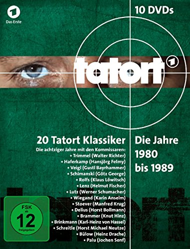 Tatort - 1980-1989 Box (10 DVDs)