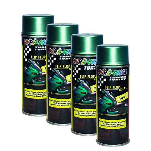 4X DUPLI-Color FLIP-Flop Ultra Lapis Effekt Glas Keramik Stein METALLE Lack 150