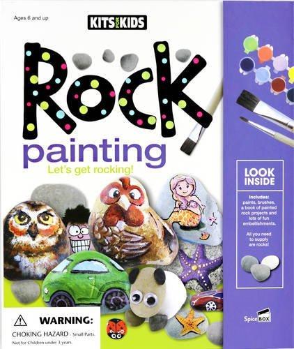 Spicebox Product Development Ltd Rock Painting: Let's Get Rocking