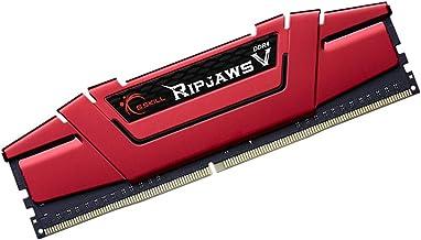 G.Skill (1x8GB) Ripjaws V Gaming Serisi 3000 MHz CL16 (16-18-18-38) Kırmızı Renkli Alüminyum Soğutuculu 1, 35V Bellek Modü...