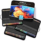 FLOWood 72 Colouring Pencils, Box-packed Colored Pencils with Artist Quality, Ideal Tools to Meet All Drawing Needs for Sketching, Coloring and Shading, Best Gifts for Christmas, Thanksgiving Day