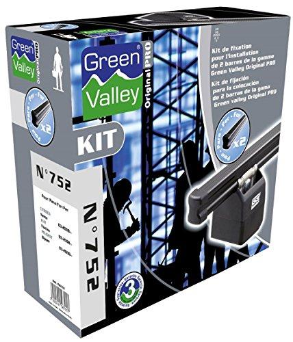 Bevestigingsset voor imperiaal ORIGINAL Pro N753-2 deuren Green Valley