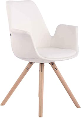 Oui Home - Conjunto 4 Sillas Tower Wood Ralf Blancas: Amazon ...