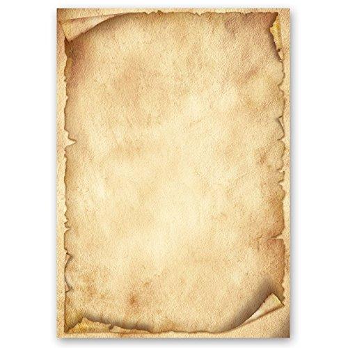 Motivpapier - Briefpapier ANTIK 50 Blatt DIN A4 90g/m²