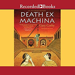 Death Ex Machina audiobook cover art