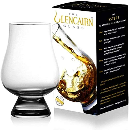Glencairn Whisky Glass Nosing Tasting Whiskey 1 2 4 6 8 Made in Scotland
