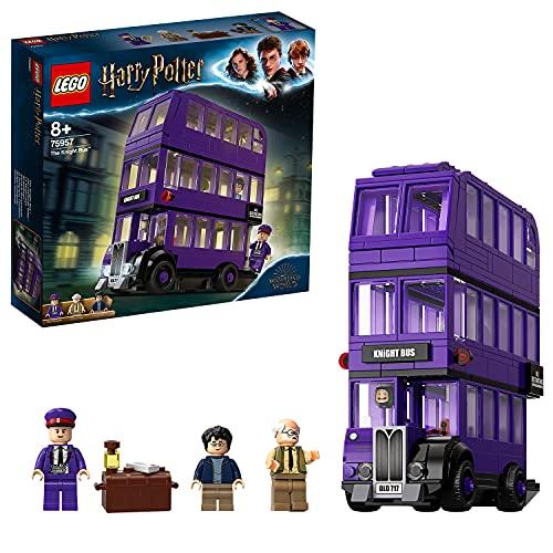 LEGO75957HarryPotterAutobúsNoctámbulo,JuguetedeConstruccióndelMágicoautobúsde3Plantascon3MiniFiguras
