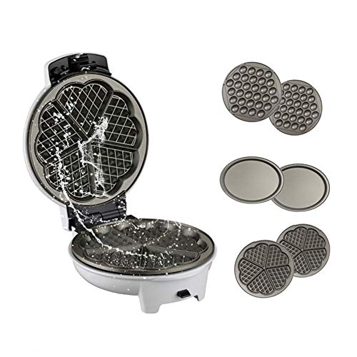 Buy Bargain CHENJIU Waffle Maker, Multifunction Electric Egg Waffle Maker Donut Walnut Cake Machine ...
