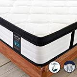 <span class='highlight'>Inofia</span> Double Latex Memory Foam Mattress with Spring,27CM LATEXCH Foam Mattress,Bi-density Latex Technology for Maintaining Superior Ventilation,Naturally Hypoallergenic,Risk-free100 Night Home Trial