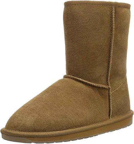 EMU Chestnut, Women's Warm Lining Mid-Calf Boots Snow Boots, Brown (Chestnut), 4 UK (37 EU)