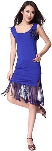 DCL Gland Corsage Robe Spectacles Professionnels de Danse Latine vêtements Robe de Danse Latine