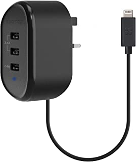 Promate USB Wall Charger-3LT Black UK