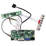 HDMI+DVI+VGA+Audio LCD Board for 13.3inch 1280x800 B133EW07 LP133WX2 LP133WX2 LVDS Interface 30Pin LCD Screen