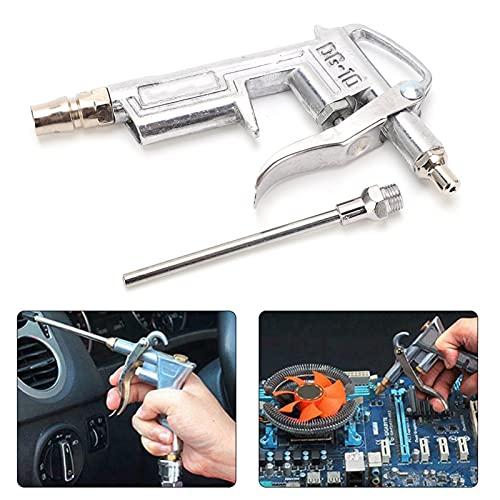 Pistola de soplado de aire industrial, no es fácil de filtrar Pistola de soplado de alta presión duradera Acero inoxidable muy práctico para fábricas, en casa