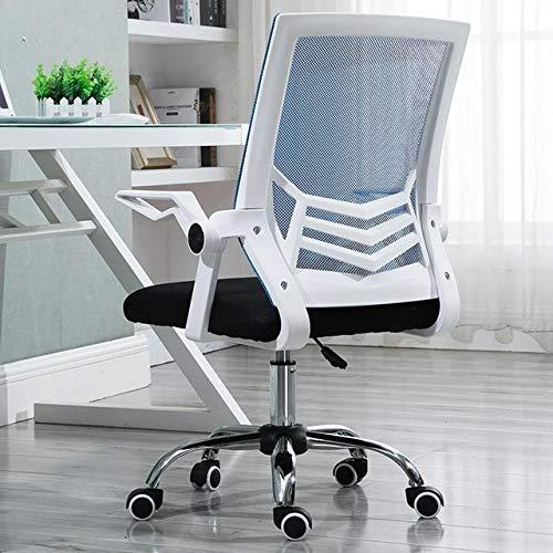 Computerstuhl Mesh Computerstuhl BüRostuhl Mit NetzrüCken Und Schwarzem Sitz Mit Klappbaren Armlehnen