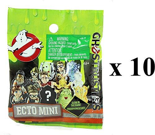 Ghostbusters Glow in The Dark Ecto Minis Figuren Mystery Blind Partytüten 10 Stück