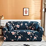 PPMP Funda de sofá elástica para Sala de Estar Funda de sofá elástica Funda de sofá elástica Funda de sillón de Esquina en Forma de L A18 4 plazas