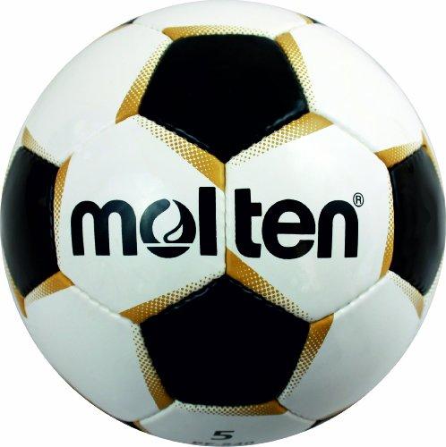 Molten Fußball Fußball PF-540, mehrfarbig (Weiß/Schwarz/Gold), 5, PF-540