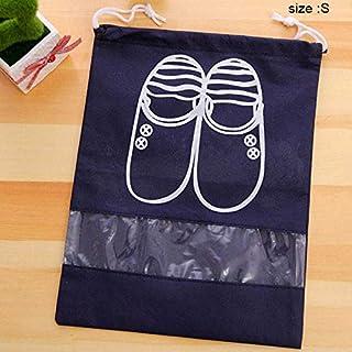 Portonss 10PCS Travel Shoe Bags, Travel Shoe Organizer Storage Bags, Portable Nonwoven Anti-Dust Shoe Bag Waterproof Shoes Storage Pouch Organizer