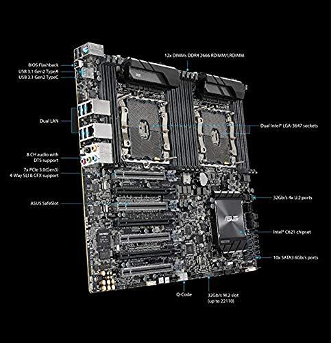 ASUS ASMB9-IKVM für WS C621E SAGE Workstation