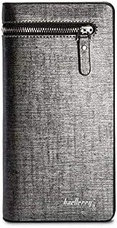 baellerry Black Grey Faux Leather For Women - Bifold Wallets