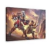 World of Warcraft - Póster de lona (60 x 90 cm)
