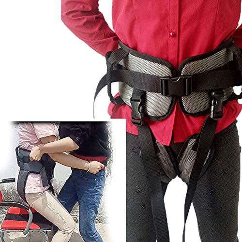 SAD Trainingsgürtel für die Rehabilitation mit Gürtelschlaufe Hilfs-Rehabilitationsgürtel, GEH-Rehabilitationsgürtel für die Beinrehabilitation Ouoy