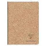 Clairefontaine 83524C Notizheft Jeans & Cocoa, DIN A5, 48 Blatt, liniert, 1 Stück, Kakao